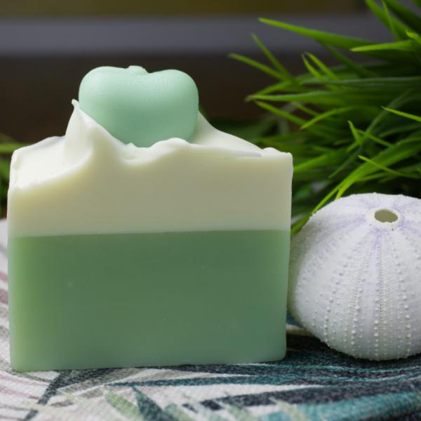 Grüner Apfel - Seife - für trockene, reife & sensible Haut