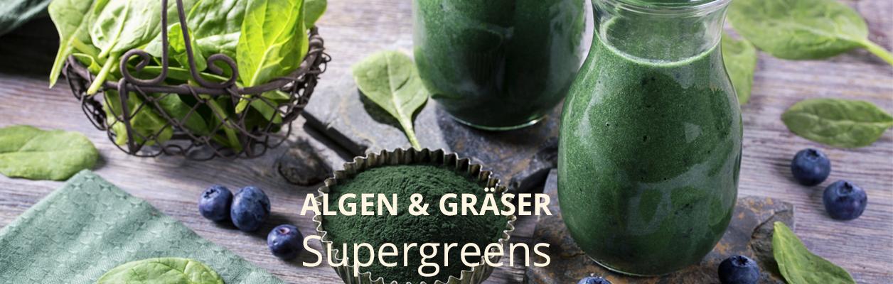 Algen & Gräser – Supergreens