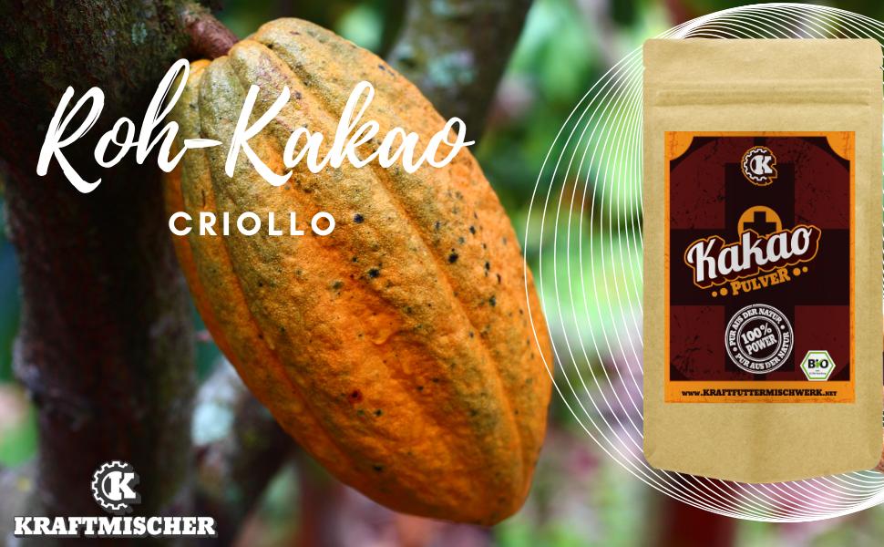 Kakaopulver Criollo Rohkost bio