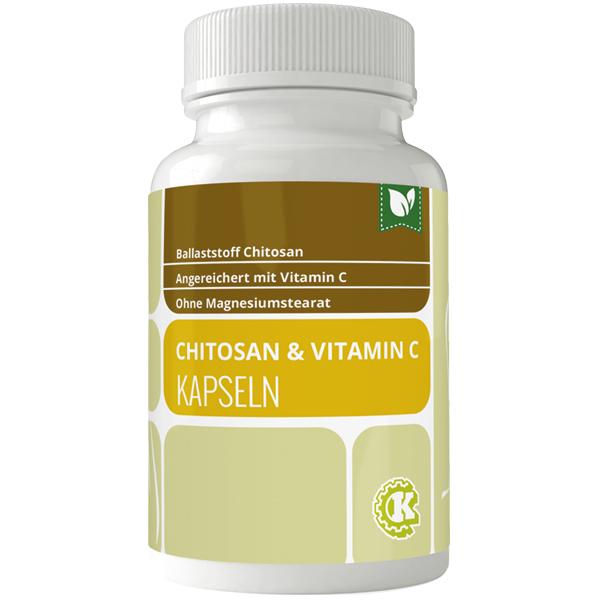 Chitosan LipoSan Ultra + Vitamin C Kapseln 90 Stk.
