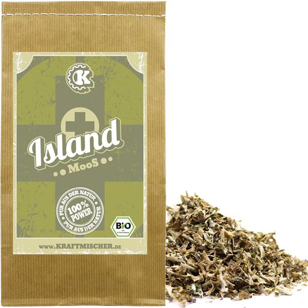 Isländisch Moos Tee