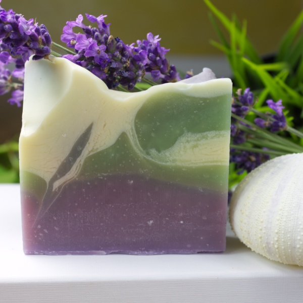 Lavendelwiese vegane Seife