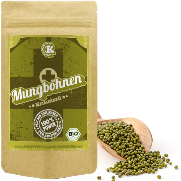 Mungobohnen bio