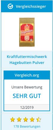 Hagebuttenpulver Testsieger 01/2020