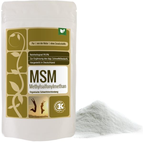MSM Pulver (Methylsulfonylmethan)