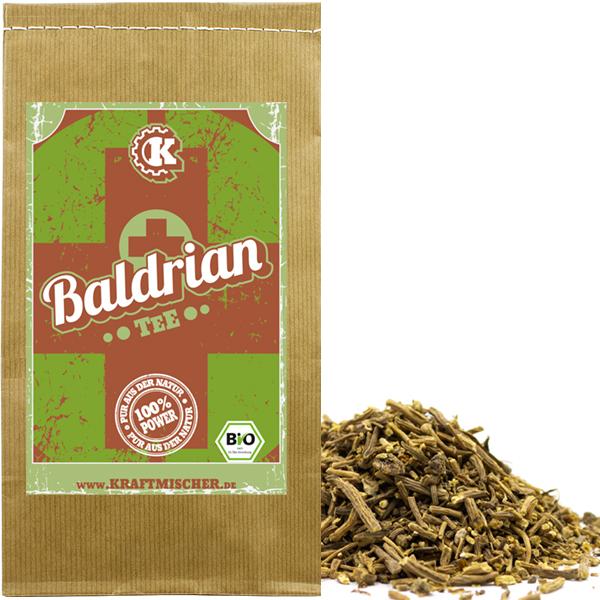 Baldrian Tee (Baldrianwurzel) bio