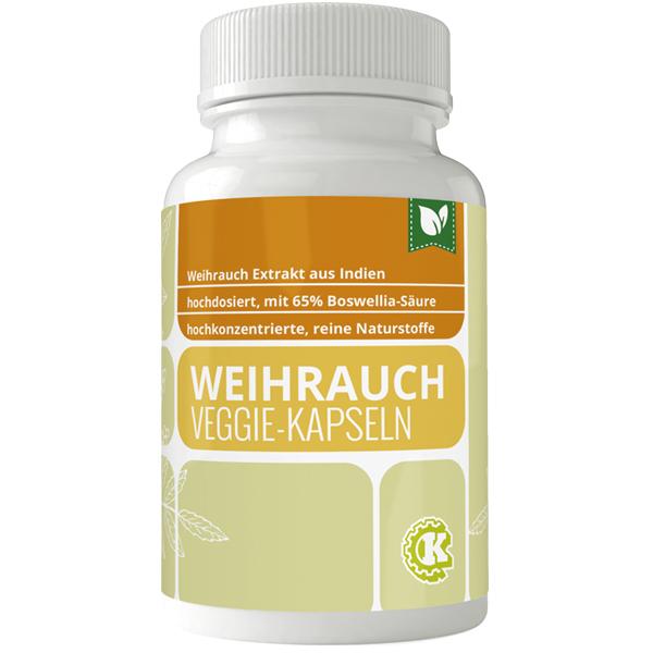 Weihrauch (Boswellia) Extrakt 65% Kapseln 90 Stk.