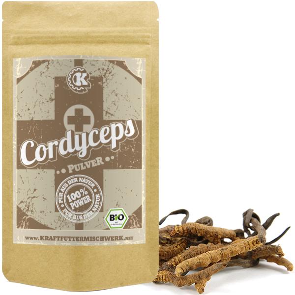 Cordyceps Pulver bio