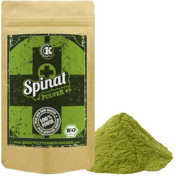 Spinatpulver bio