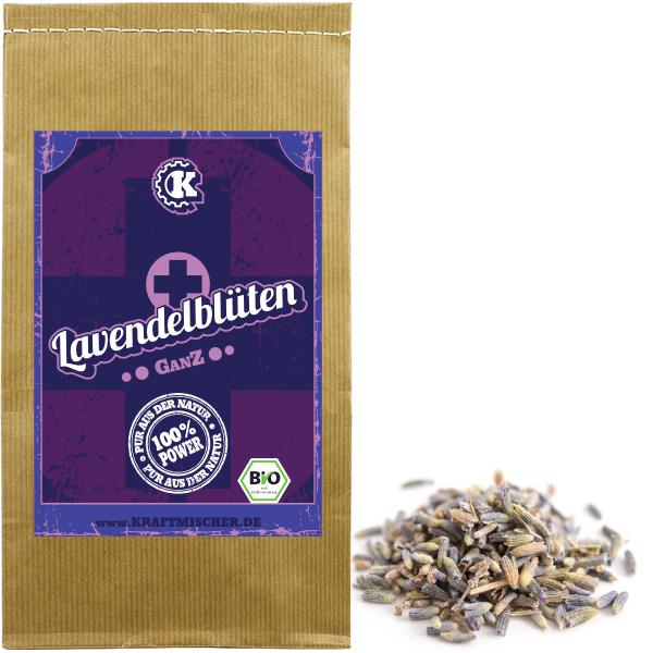Lavendelblüten bio für Lavendel Tee