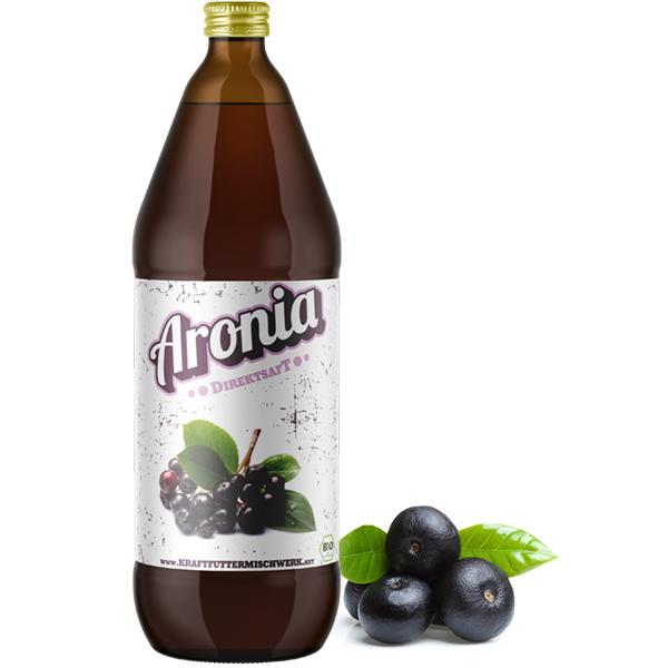Aronia Direktsaft bio 1 Liter